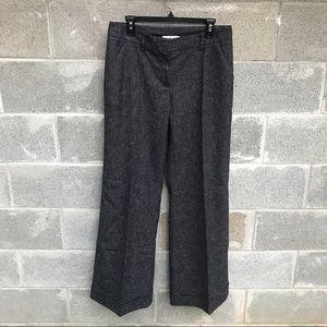 CAbi Spec'd Wide Leg Twill Style LONG Trouser Sz12